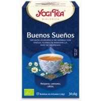 INFUSION BUENAS NOCHES 17X1 8G YOGI TEA