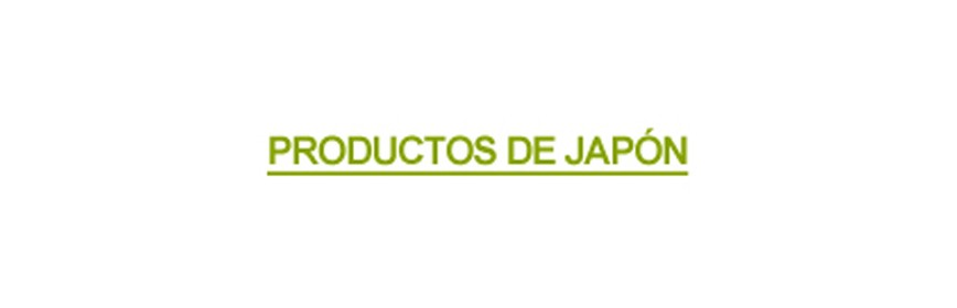 PRODUCTOS DE JAPON