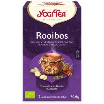 INFUSION ROOIBOS 17X1 8G YOGI TEA