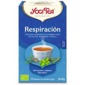 INFUSION RESPIRACION 17X1 8G YOGI TEA