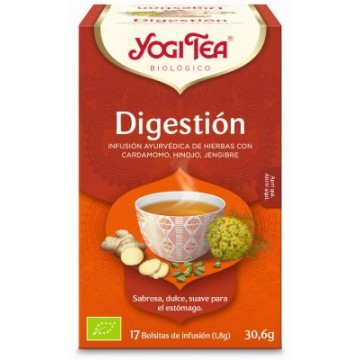 INFUSION DIGESTION 17X1 8G YOGI TEA