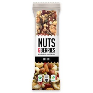 BARRITAS DELUXE 40G NUTS BERRIES