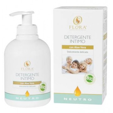 GEL INTIMO NEUTRO CON ALOE VERA 250ML FLORA